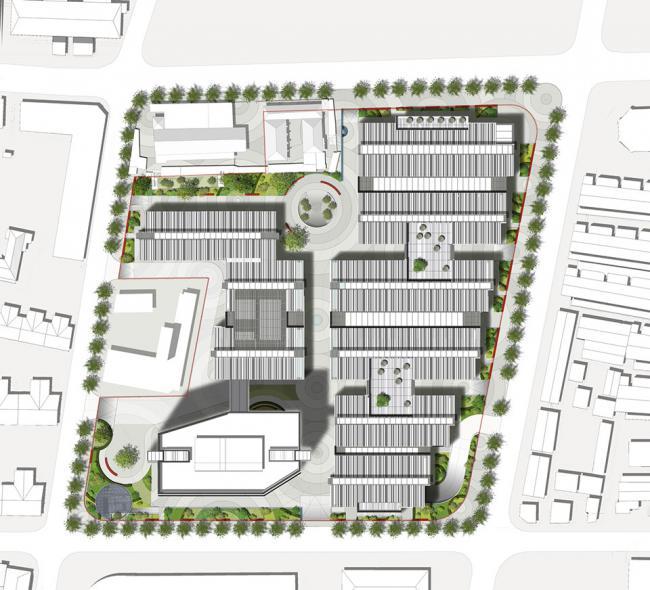 广州景观设计培训学校详情咨询:杨老师,电话:400-0011-653,联系QQ:1419731936,1726839823。   上海原法租界内坐落着密度较大的联排建筑群,也就是被称为石库门的里弄式住宅。里意为邻里,弄则为贯穿邻里的狭窄街巷。里弄内保留有私密的城市空间,这是上海历史发展过程中形成的一种独特的都市空间形态。   SOHO复兴广场为一座由办公空间、商业配套和餐饮设施构成的城中之城,其在尺度与街道走向布置上延续了周边街区的现状,同时也尊重了现有的历史建筑,以遗留的城市肌理弥合了老街